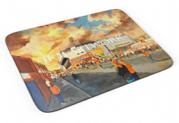 tannadice going to the match Premium Quality Mouse mat (1)